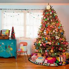 christmas trees with colored lights decorating ideas projects inspiration multi colored christmas trees best 25 colorful