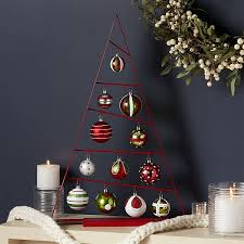 ornament tree with set of ornaments crate and barrel
