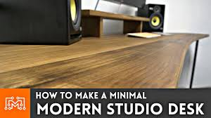make a corner desk how to make a modern studio desk woodworking u0026 metalworking