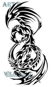 les 25 meilleures idées de la catégorie phoenix tribal tattoo sur