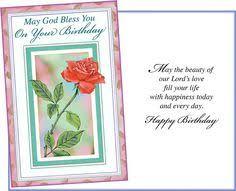 handmade christian birthday card for women or girls see more