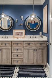 nautical bathroom mirrors nod to nautical bathroom round mirror roundup favorite pics from nautical style vanities
