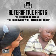 Internet Lies Meme - the science of solving alternative facts