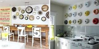 decorating ideas for kitchen walls wall decor kitchen size of contemporary kitchen wall