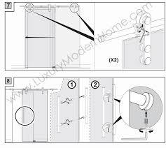 berlin double sliding glass door hardware 100