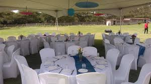 Spandex Seat Covers Tabitha And Gabriel Wedding Hexagon Tents And Spandex Seat Covers