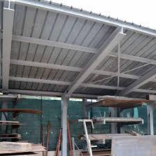 tettoia autoportante tettoia autoportante verniciata largaiolli gianfranco