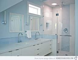 Gray And Blue Bathroom Ideas - 18 cool and charming blue bathroom designs home design lover