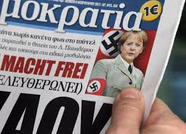 Merkel depicted as Nazi in Greek newspaper | TheBlaze.