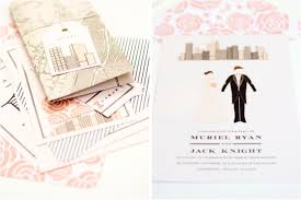 wedding invitations nyc muriel city suite from mae mae paperie wedding invitations