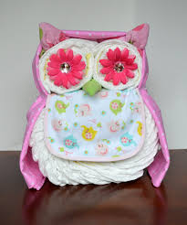 Owl Diaper Cake Who Who Who Wouldn U0027t Love This Owl Diaper Cake