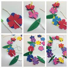 hawaiian leis craft for kids hawaiian grass crown