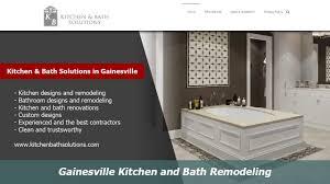 gainesville kitchen and bath remodelers kitchen bath solutions