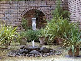 Simple Backyard Landscape Ideas Diy Backyard Ideas Inspiring And Simple Water Fountain Designs