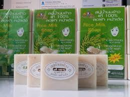 Sabun Thai thai rice milk soap k brothers soap sabun beras thailand
