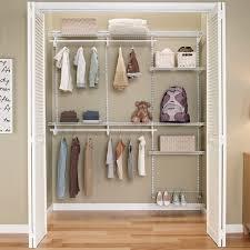 Closetmaid Shelftrack Hang Track Closetmaid Shelftrack 5ft To 8ft Closet Organizer Kit White