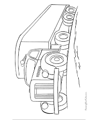 tractor trailer coloring pages free truck pictures kids coloring