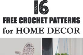 free crochet patterns for home decor 44 easy crochet home decor 3 fast easy crochet baskets by
