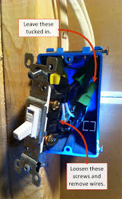 Replacing A Light Switch How Do You Install A Light Switch 5 Steps With Great Pictures