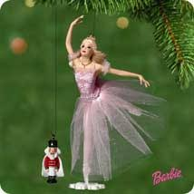 2001 sugar plum princess w nutcracker hallmark ornament at