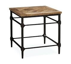 Small Accent Table Side Table Metal Wood Side Table Small Metal Patio Side Tables