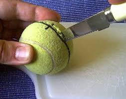 Tennis Balls For Chairs Tennis Ball Tripod 4 Steps With Pictures