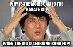 Why Is A Meme Called A Meme - why is the movie called the karate kid when the kid is learning
