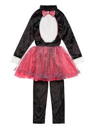 Kids Cat Halloween Costume Halloween Kids Wicked Witches Cat Costume 3 12 Tu Clothing