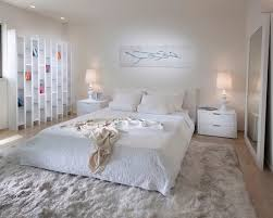 White Modern Rug Awesome Basement Inspiring White Contemporary Bedroom Area