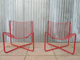 Commode Baroque Ikea by Red Metal Wire Jarpen Chairs By Niels Gammelgaard For Ikea 1983