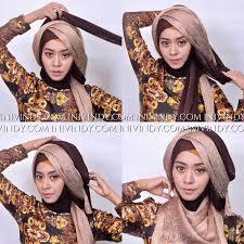 tutorial makeup natural hijab pesta ini vindy yang ajaib tutorial makeup natural dan hijab style untuk