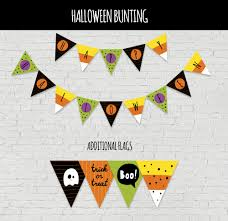 Free Halloween Activities Printable by Hello Wonderful Festive Free Printable Halloween Bunting