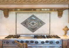 kitchen medallion backsplash beautiful kitchen medallions kitchen backsplash home design