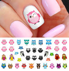 24 best owl nail decals images on owl nail
