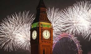 Celebration In Uk New Year 2015 Live Britain Counts To And Edinburgh
