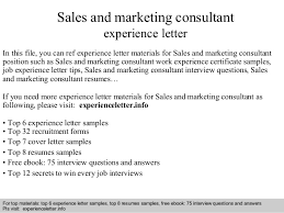 sales and marketing consultant experience letter 1 638 jpg cb u003d1409129948