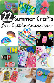 summer crafts for little learners a dab of glue will do
