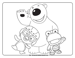 pororo the little penguin free disney coloring sheets