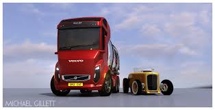 red volvo truck 2010 future of truck cabins by michael gillett at coroflot com