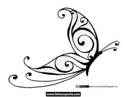 30 simple butterfly tattoos