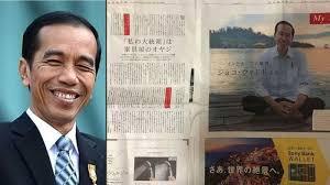 profil sosok jokowi sosok jokowi dimuat di koran jepang sebanyak 2 halaman ulasannya