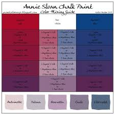 annie sloan chalk paint color mixing guide i need this