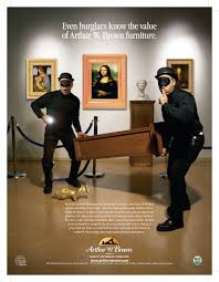 arthur w brown furniture company featured ads