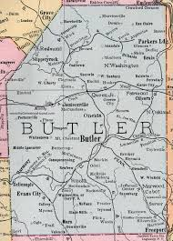 Pennsylvania Map by Butler County Pennsylvania 1911 Map By Rand Mcnally Oneida