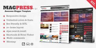 magpress v3 1 magazine responsive blogger template themelock