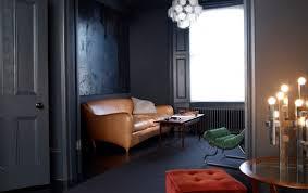 black trim black walls with black trim door sixteen