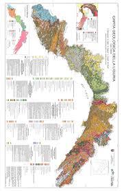 Liguria Italy Map by Carta Geologica Della Liguria Scala 1 200 000 Geological Map