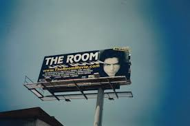 the room movie poster and billboard fonts in use