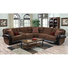 sectional ferrara leather recliner sectional sofa