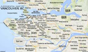 san francisco judgmental map cults cougars gangland judgmental map of vancouver stirs
